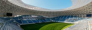 Bosch implementa una solución integral de seguridad en el estadio de Craiova