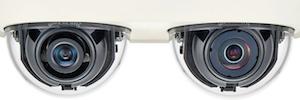 Wisenet PNM-7000VD: cámara multidireccional de dos canales para grandes espacios abiertos