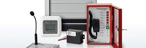 Siemens Cerberus Pace: sistema de megafonía y alarma por voz PA/AV