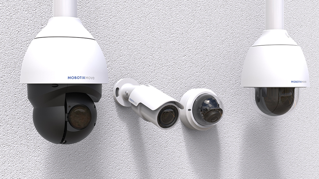 Milestone offers support to all Mobotix cameras Mx6 and Move ranges