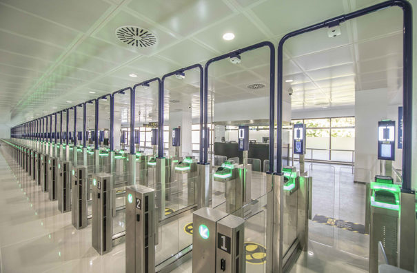 Everis access control in airports