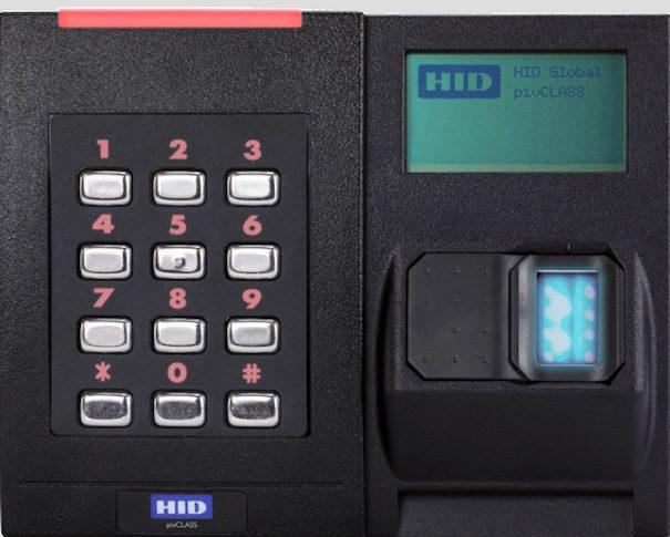 HID global biometrics