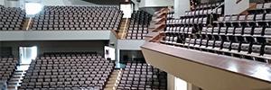 El Auditorio Nacional de Música renueva su sistema de evacuación por voz para garantizar la seguridad de sus eventos