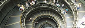 La tecnología de Minsait integrará en una única plataforma todos los sistemas de seguridad de Museos Vaticanos