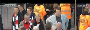 Control de accesos con reconocimiento facial de Panasonic en el estadio belga R.W.D Molenbeek