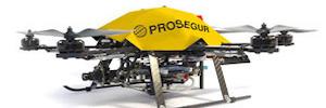ArcelorMittal y Prosegur, pioneros en desplegar un servicio de vigilancia con drones en la factoría de Avilés