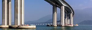 Bosch garantisce un funzionamento sicuro in ponte Hong Kong-Zhuhai-Macao