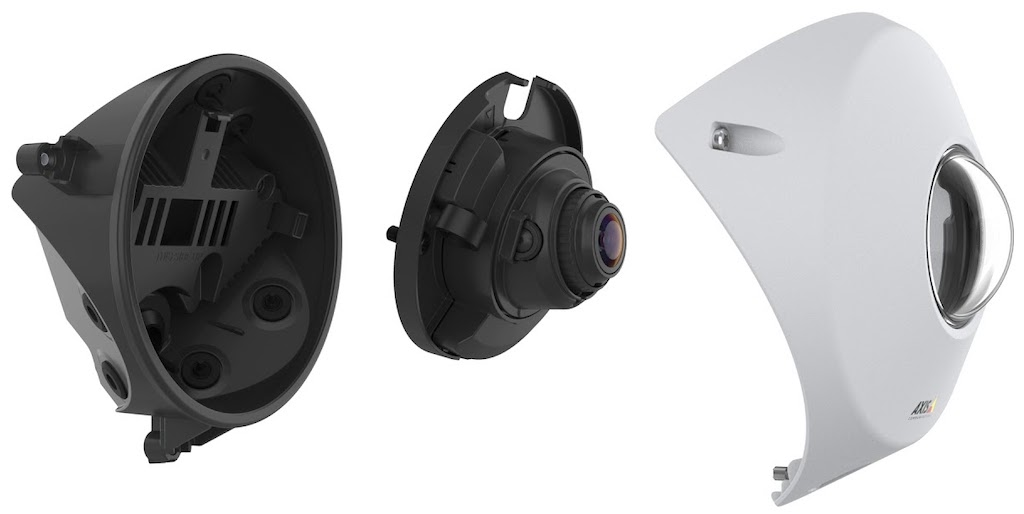 Axis P9106-V: monitoring of complete coverage from any corner