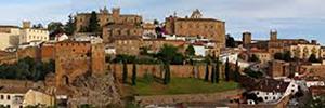 Cáceres instala cámaras para gestionar la conservación de edificios históricos y el acceso de visitantes
