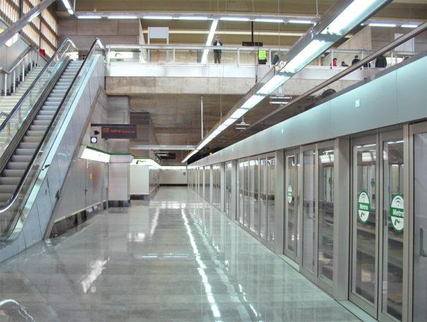 GMV videovigilancia Metro Sevilla