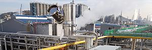 Hanwha proporciona un entorno de trabajo seguro en las instalaciones químicas