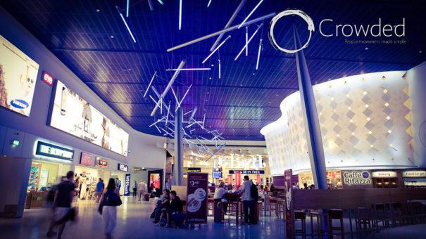 Plataforma Crowded y Libelium en aeropuerto Manchester