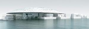 Las cámaras térmicas de SightLogix protegen el Museo del Louvre en Abu Dhabi