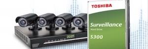 Toshiba S300: disco duro interno de hasta 10 TB para aplicaciones de videovigilancia