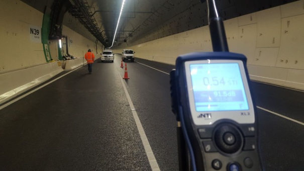 Sonotrack megafonia tunel Waterview Auckland