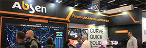 Absen muestra en Exposec Brasil sus soluciones Led para salas de control