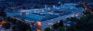 La imprenta Mohn Media Mohndruck sigue confiando su seguridad en Bosch