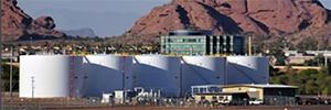 Redscan protege una zona de tanques de combustible usados en aviación agrícola