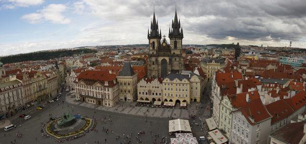 Plaza Ciudad Vieja de Praga (Foto: Christopher Oliver)