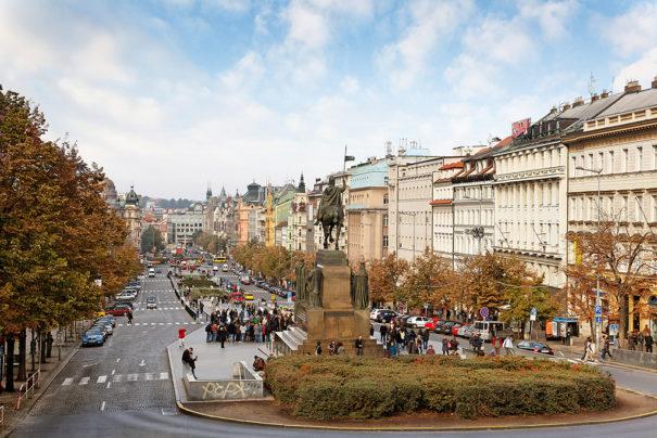 Plaza Wenceslao de Praga (Fotobeam)