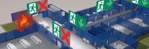 Sistemas inteligentes de iluminación para mantener la seguridad en grandes edificios