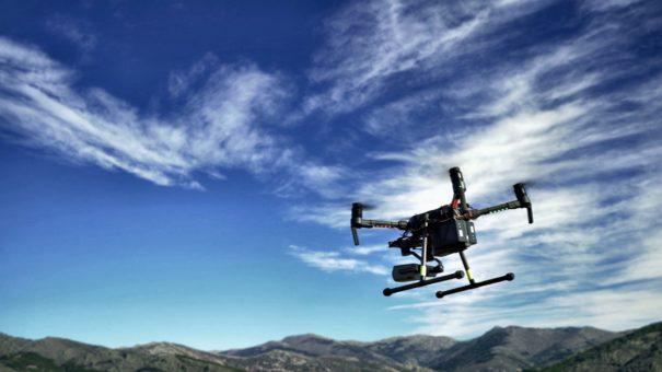 Telefonica drones IoT detección incendios