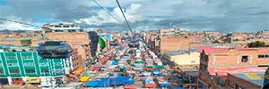 Scati completa la seguridad del sistema de transporte colectivo aéreo por cable de Bolivia