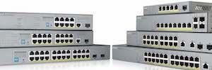 Zyxel GS1300 y GS1350: switches PoE para aplicaciones de videovigilancia