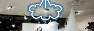 Foggy: generador de niebla antirrobo de AVS electronics