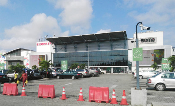 Hikvision centro comercial Palms Shopping