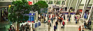 D-Tect laser scanning detector protects airport security zone