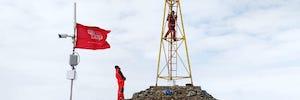 كاميرات المراقبة بالفيديو ECU 911 تسجيل صور غير منشوره للقارة القطبية الجنوبية