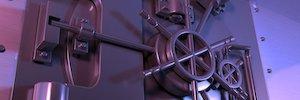 El detector Redscan RLS-3060 protege la bóveda y las cajas de seguridad de una sucursal bancaria