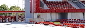 مركز تدريب أتلتيكو مدريد يختار أنظمة العناوين العامة Optimus