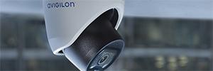 Avigilon H5M: Câmera ao ar livre com IA e detecção de movimento
