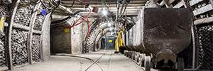 Hikvision ajuda a proteger mineiros de carvão de Jiangzhuang