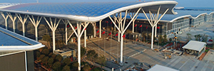 Bosch equipa el centro de convenciones Shenzhen con una solución personalizada de comunicación y seguridad