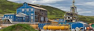 الزنك Asturian تركيب نظام إخلاء EN-54 كاملة في مصنعها Hinojedo