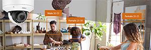 Hanwha Wisenet Retail Insight utiliza las cámaras seguridad para analizar el comportamiento de los clientes