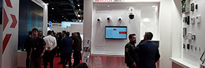 Hikvision unveiled its new corporate image at SICUR 2020