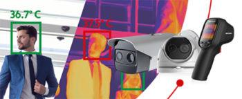 Hikvision camara termografica deteccion temperatura