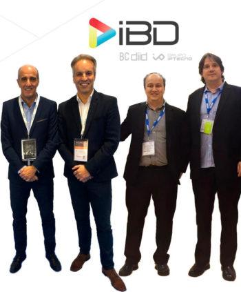 Ignacio Barandiarán, Ricardo Costa, Jordi Bassa y Joan Ojeda, directivos de IBD Global