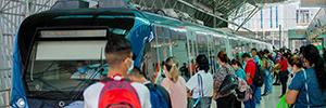 Alstom Mastria gère les flux de personnes dans les moyens de transport