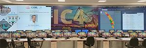Los videowall de Delta se convierten en el centro de monitorización y vigilancia de la ciudad de Kochi