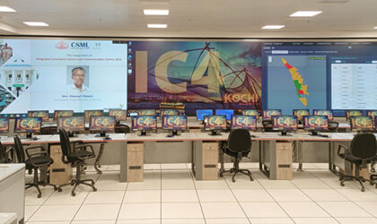 Delta Display en Kochi Smart City