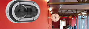 Axis P3715-PLVE: videovigilancia panorámica para centros educativos