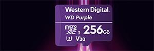 Western Digital lanza en Europa la tarjeta Purple SC QD101 para cámaras de seguridad
