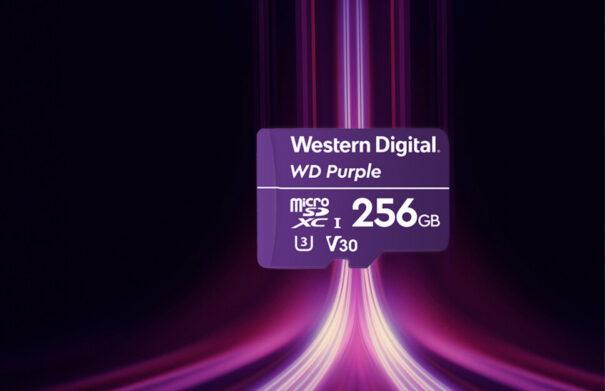 WD Purple SC QD101 microSD
