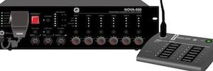 أوبتيموس نوفا: EN-54 نظام الخطاب العام والتنبيه الصوتي مع ستة اختيار المنطقة