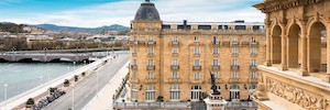 أوبتيموس يجلب خطابه العام وتكنولوجيا إنذار الصوت إلى فندق ماريا كريستينا في سان سيباستيان